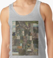 Tree Points Drop Men's Tank Top