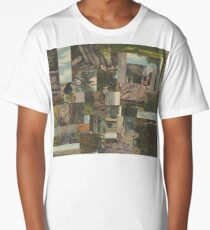 Tree Points Drop Long T-Shirt