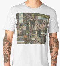 Tree Points Drop Men's Premium T-Shirt