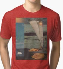 Sun Set Sail Tri-blend T-Shirt