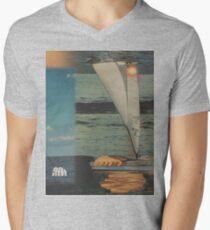 Sun Set Sail Men's V-Neck T-Shirt