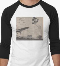 Fighter Flight Men's Baseball ¾ T-Shirt