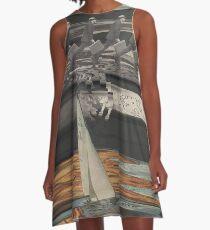 Grunt Spill A-Line Dress