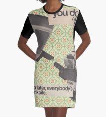 Machine Learning Graphic T-Shirt Dress