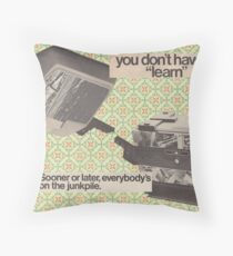 Machine Learning Throw Pillow