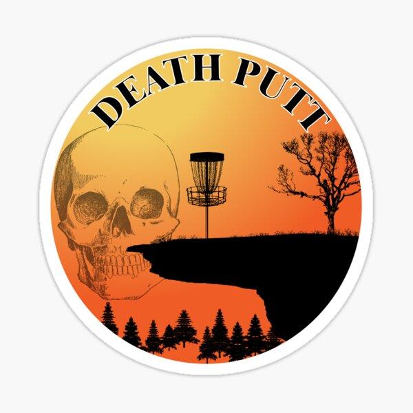 Death Putt by Nerd Digs Sticker