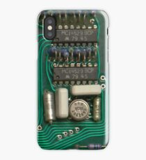 Circuit - recycling old electronics iPhone Case/Skin
