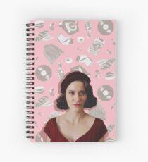 Midge Maisel + Pattern Spiral Notebook