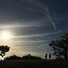 Sundown In Scripps, La Jolla California by mayachrome