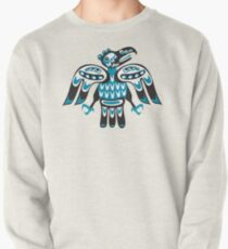 blue bird Pullover Sweatshirt