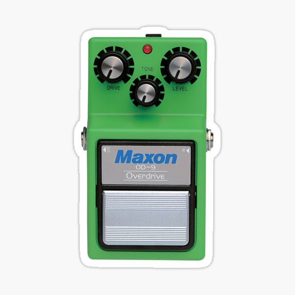 Maxon OD9 Overdrive Sticker