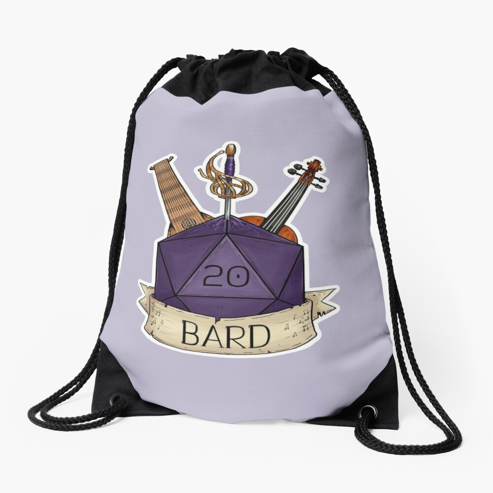 D&D - D20 - Bard Drawstring Bag
