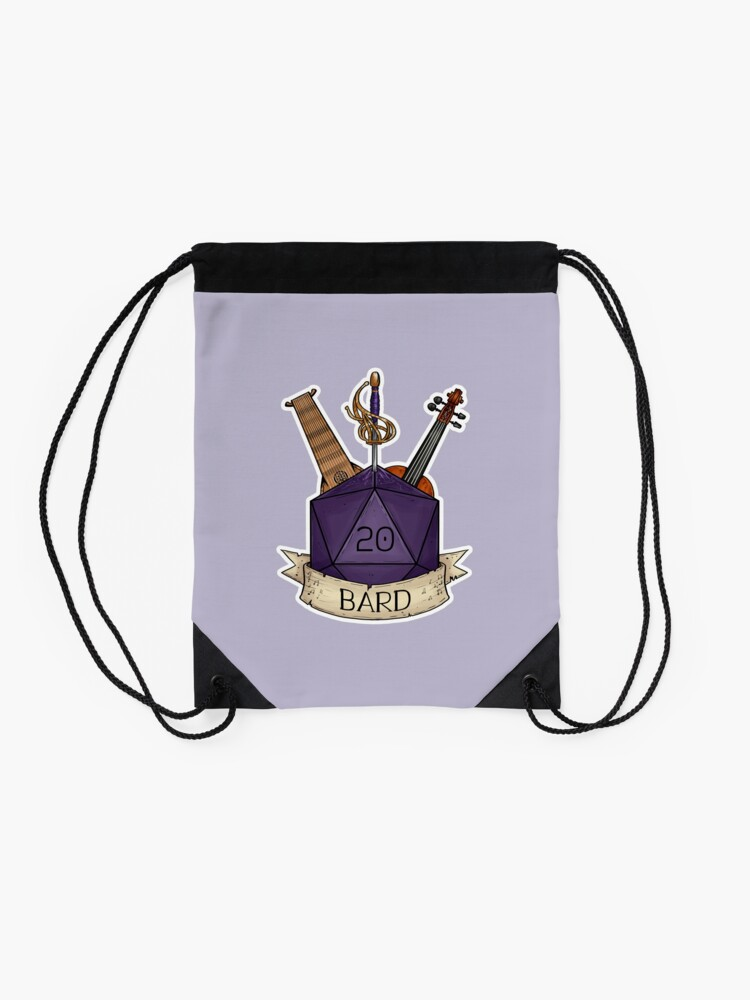 Alternate view of D&D - D20 - Bard Drawstring Bag
