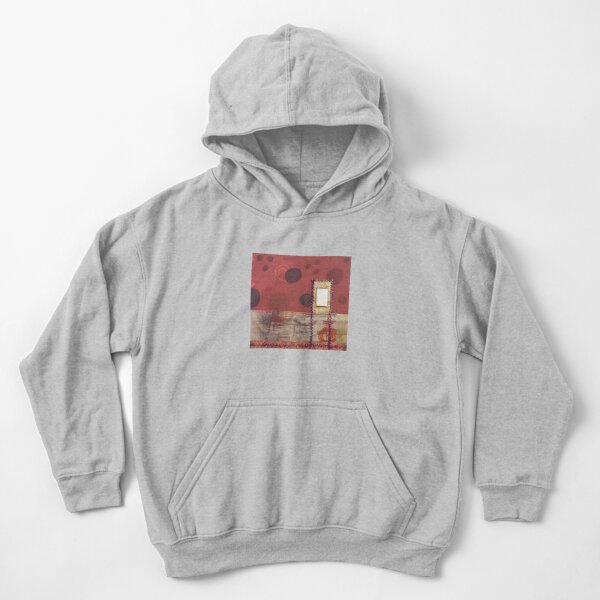 Where Silence Hides Kids Pullover Hoodie
