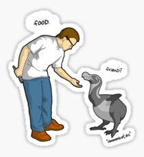 dumb dodo Sticker