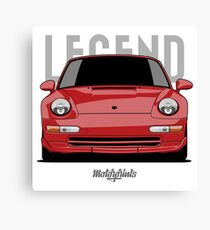 Legend RS 993 (red) Canvas Print