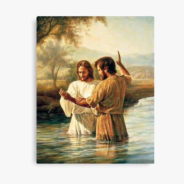 Bautismo de Cristo Lienzo