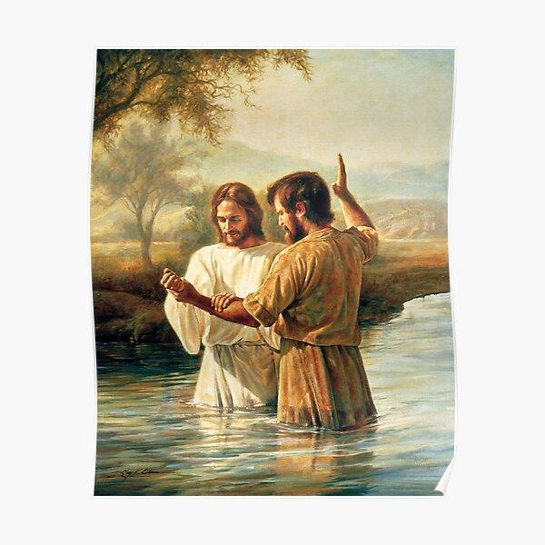 Baptism Of Christ  Poster