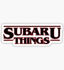 SUBARU THINGS Sticker
