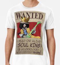 a87a4d0b8 Camiseta premium para hombre Brook quería una pieza