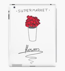 Supermarket Flowers iPad Case/Skin