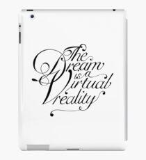 Dream virtual reality iPad Case/Skin