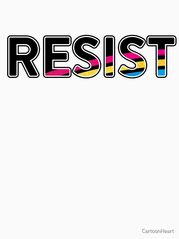 RESIST - T-Shirt by CartoonHeart