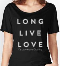 LONG LIVE LOVE - T-Shirt Dark Women's Relaxed Fit T-Shirt