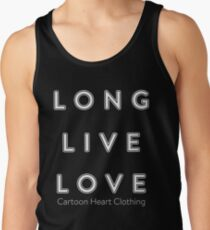 LONG LIVE LOVE - T-Shirt Dark Tank Top