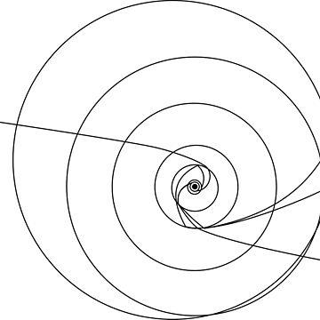 Voyager und Pioneer Sonnensystemkarte von Upbeat
