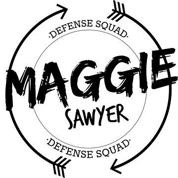 MAGGIE SAWYER DEFENSE SQUAD by localfandoms