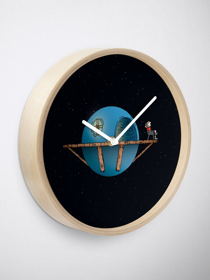 Alternate view of Home Planet Clock