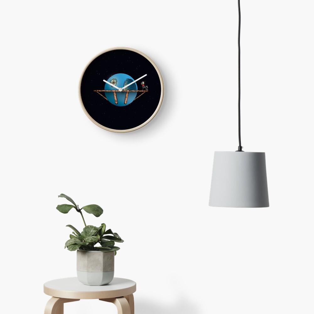 Home Planet Clock