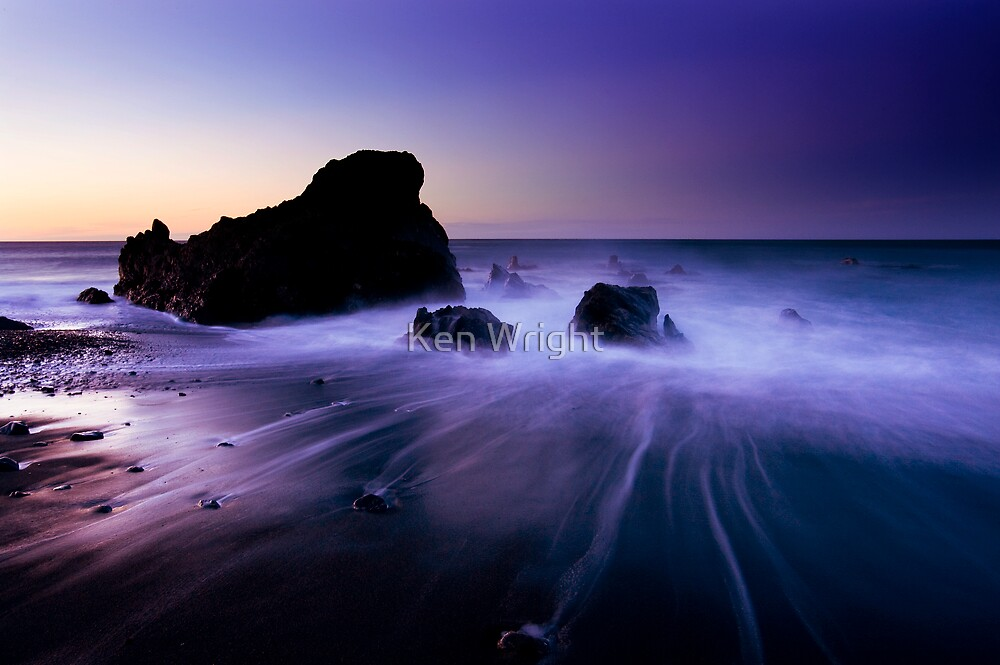 Purple Dawn-the Rising by Ken Wright
