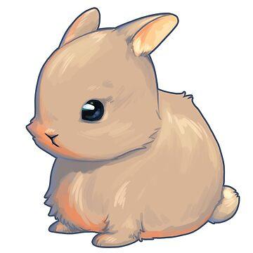 Cute Bunny by LinaFleer
