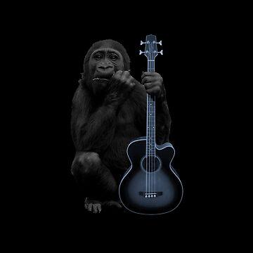 Rockin' Ape by davidspeed