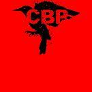 Crippled Black Phoenix Logo (Black) by matthewdunnart
