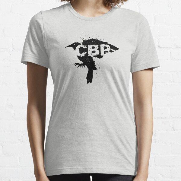 Crippled Black Phoenix Logo (Black) Essential T-Shirt