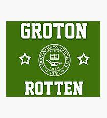Groton - Rotten Photographic Print