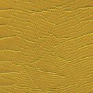 Mustard Yellow Reptile Skin by CrazyCraftLady
