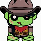 Zombie Cowgirl O'bot 1.0 by Carbon-Fibre Media