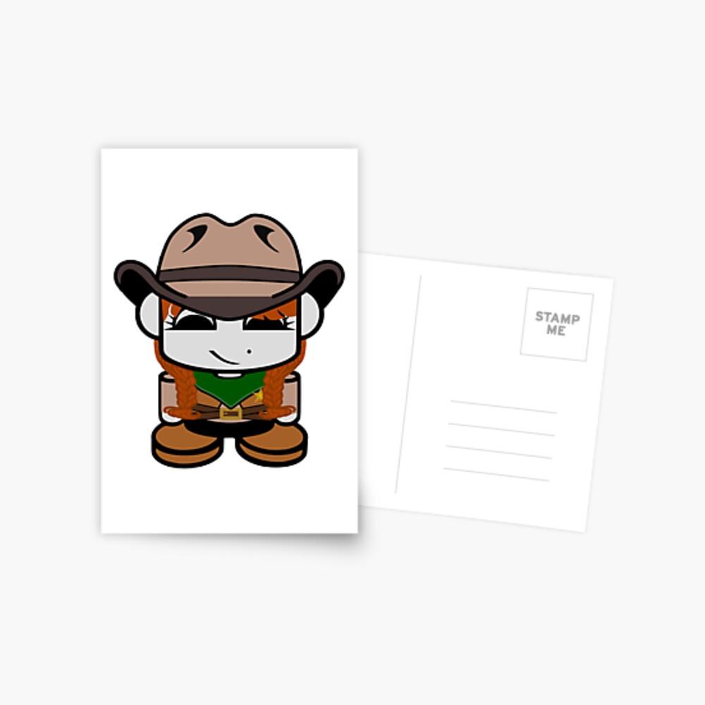 Cowgirl O'bot 3.0 Postcard