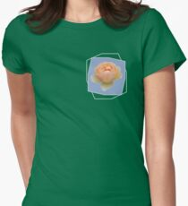 Apricot Rose Women's Fitted T-Shirt