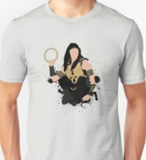 Xena Silhouette Unisex T-Shirt