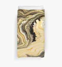 Painted Gold Duvet Cover