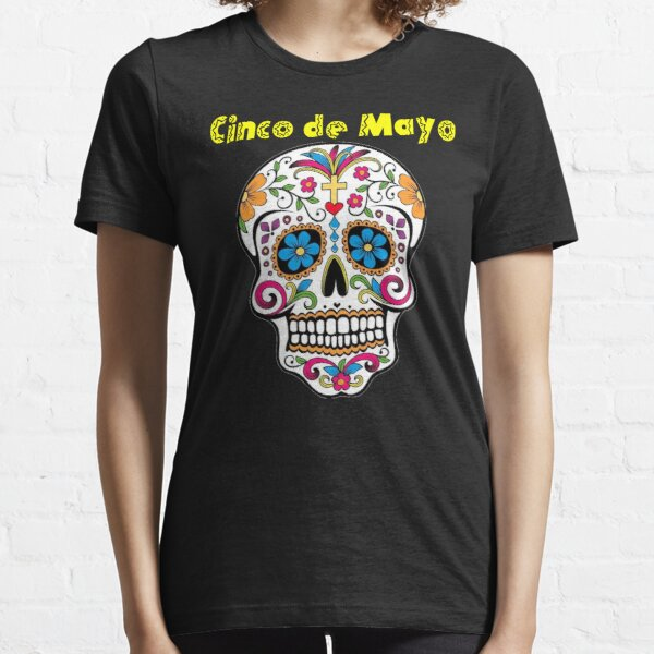 Mexican Lady Mexican Girl Unisex Sizes Skull Girl Mexican Skull Graphic Tee Cute T-Shirts Skull Tshirt Family Outfit Aesthetic Shirt TU1229