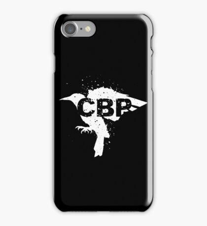 Cripple Black Phoenix Logo (White) iPhone Case/Skin
