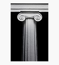 Ionic column.  Photographic Print