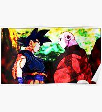 Póster Goku vs Jiren