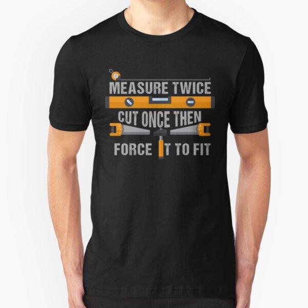 Carpenter Fix stupide Homme Drôle T-shirt imprimé Tee